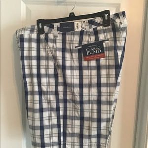 Croft and barrow plaid shorts